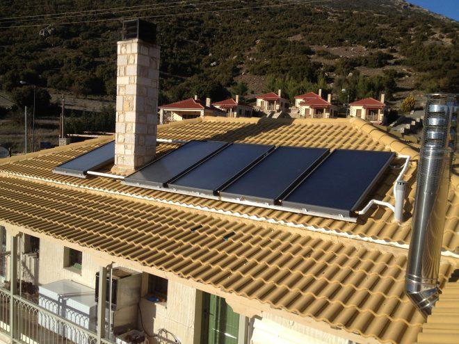 Εγκατάσταση Ηλιακού Συστήματος Βεβιασμένης Κυκλοφορίας