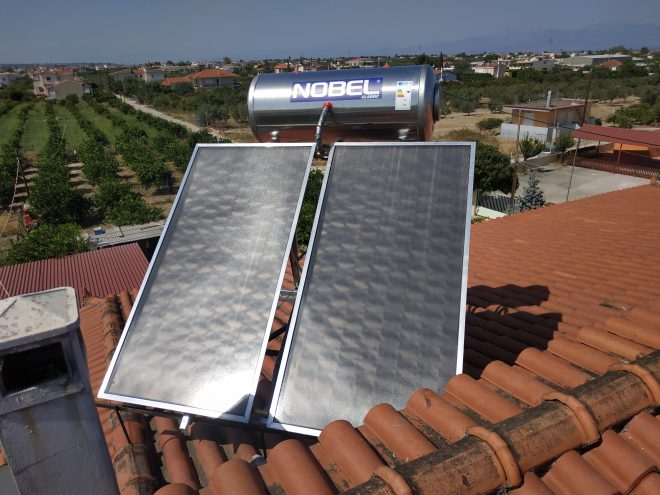 Εγκατάσταση Ηλιακού Θερμοσίφωνα
